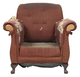 Furniture Medic of Greater Vancouver Upholstery and Leather Furniture Repairs and Restoration Before
